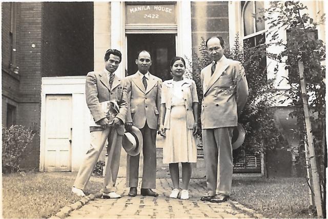 1946 Manila House JPG Chapman Photos