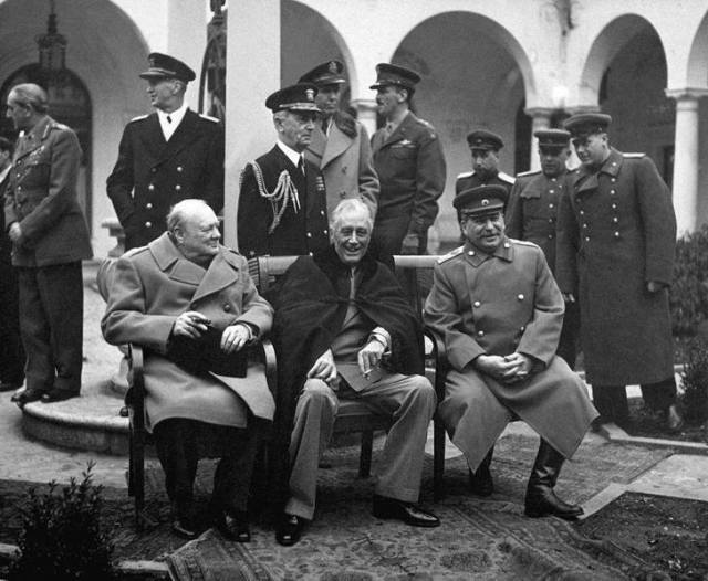 Big Three Yalta Conference
